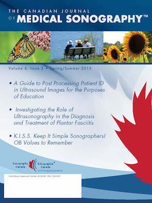Canadian Journal of Medical Sonography